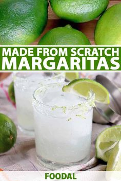 The Best Fresh FromScratch Margarita is part of The Best Fresh From Scratch Margarita Recipe Foodal - There's no need to run out to buy mixer for your tequila fix when you can make this fresh margarita recipe It's vibrant, bright, and tasty