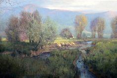 Morning Towards Luray, by Michael Godfrey