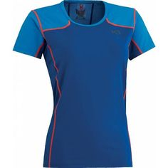Anne t-shirt dames blauw
