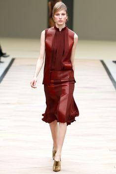 Céline Fall 2011 Ready-to-Wear Fashion Show - Marique Schimmel (WOMEN)