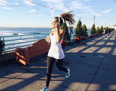 """Best way to start the day! #running #LAvibes photo @maxcalifa ☀️ @adidasbrasil"""