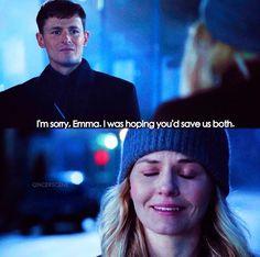 I'm sorry, Emma. #gideon #emma