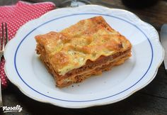 Húsos lasagne | Nosalty Rigatoni, Gnocchi, Apple Pie, French Toast, Good Food, Breakfast, Ethnic Recipes, Desserts, Yellow Gown
