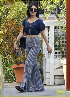 Vanessa Hudgens Lunches With Austin Butler In Studio City