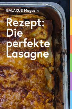 Lasagne zu machen braucht viel Zeit und Geduld, aber es lohnt sich. Vor allem wenn du die Pasta selbst herstellst. Du wirst nie mehr etwas anderes wollen. Das Geheimnis dieser Lasagne ist, die Pasta nur kurz zu kochen und dann zu waschen. Dadurch haben die Blätter noch einen schönen Biss und werden nicht matschig. Pasta, Zucchini, Cooking, Ethnic Recipes, Desserts, Science, Gift Ideas, Food, Gourmet