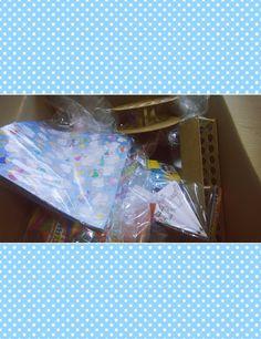 Desempaquetado productos manualidades