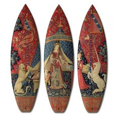 The Boom-Art Renaissance Surfboard Collection is for Cultured Surfers #lifestyle trendhunter.com