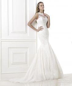 high-neck-lace-appliques-mermaid-wedding-dresses