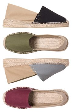 Laid-back confidence - SARA - natural is her style.  SARA espadrilles made in Spain by espadrillesetc.com