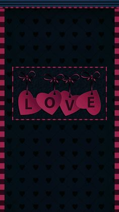 Red Wallpaper, Wallpaper Backgrounds, Anna Frozen, Love You, My Love, Country Girls, Cute Wallpapers, Hearts, Bows