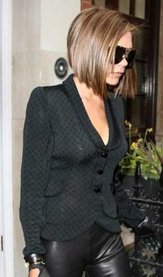 15 Victoria Beckham Bob Cuts | Bob Hairstyles 2015 - Short Hairstyles for Women