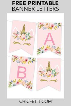 24 ideas birthday banner ideas printable alphabet #birthday   Haidyn