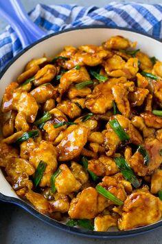 Mongolian Chicken - Dinner at the Zoo Duck Recipes, Asian Recipes, Recipe Chicken, Chicken Recipes, High Protein Lunch Ideas, Mongolian Chicken, Manchurian Recipe, Chicken Chow Mein, Cheesecake