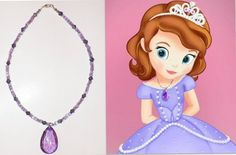 Sofia the First Magic Necklace by KieriousKreations on Etsy, $14.00
