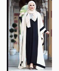 Pinterest: @adarkurdish Fashion Muslimah, Niqab Fashion, Street Hijab Fashion, Muslim Fashion, Modest Fashion, Niqab Style, Abaya Style, Hijab Niqab, Hijab Outfit