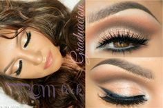 Look de GRADUACION + Cabello (PROM makeup + Hair Style)