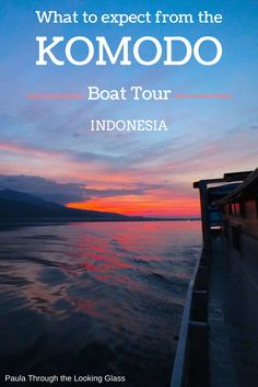 A first-hand account of this 4 day/4 night trip in #Indonesia http://www.paulathroughthelookingglass.com/what-to-expect-on-the-komodo-boat-tour-in-indonesia/