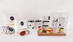 Handwritten Sandwich Branding - Embutique Packaging Expresses an Approachable and Personal Image (GALLERY)