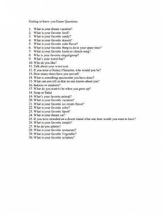 getting to know you questions for ice breaker games-activity days Journal Prompts, Writing Prompts, Planner Journal, Fun Questions To Ask, Random Questions, Dating Questions, Couple Questions, Car Ride Questions, Snapchat Questions