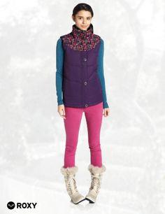 Roxy Snow Juniors Dice Vest Snow Jacket