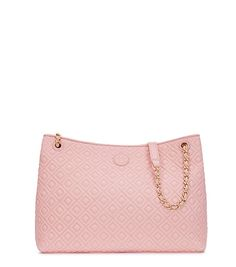 Tory Burch Marion Quilted Center-zip Tote