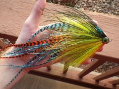 pumpkinseed #flytying #muskyfly robtiesflies fly fishing fly tying