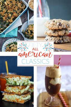 Fifty All American Classics For Your Election Day Feast! Fifty All American Classics For Your Election Day Feast! No Dairy Recipes, Vegetarian Recipes Dinner, Delicious Vegan Recipes, Vegetarian Food, Amazing Recipes, Lunch Recipes, Appetizer Recipes, All American Food, American Dinner