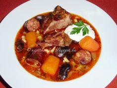 Az otthon ízei: Tárkonyos bableves füstölt hússal és kolbásszal