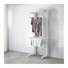 ALGOT Stolpe/fot/tørkestativ  - IKEA