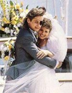 Patch (Steve) Johnson and Kayla Brady 1988