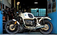 "BMW R100 ""White"" by Cafe Twin"