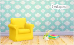 8 Curiousb wallpapers Some more colorful patterned walls for your game ^^ The original walls are made for TS2 by curiousb (Thank you for your generous policy). There's 8 walls in total and they work...