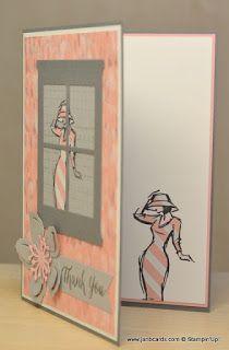 JanB Handmade Cards Atelier: Beautiful You Through the Window