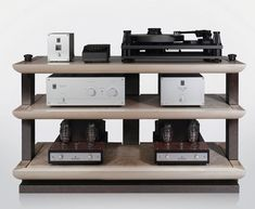 Living Voice UK, ultra high performance audio products including the Vox Olympian horns, and OBX-RW loudspeakers, equipment rack and offer bespoke design. Hifi Stand, Speaker Stands, Fi Car Audio, Hifi Audio, High End Hifi, High End Audio, Hifi Regal, Diy Amplifier, Audio Rack