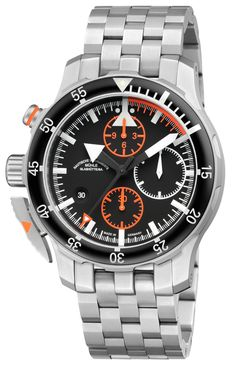 Muhle Glashutte Watch S.A.R. Flieger-Chronograph  bezel-unidirectional…  Stylish Watches, Cool af2a3b8c03a6