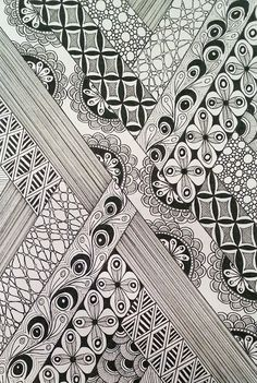 Judy's Zentangle Creations