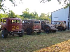 Vintage Dirt Track Cars #racing