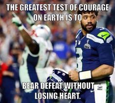 Russell Wilson's interception in the final seconds of Super Bowl XLIX ends any hopes of the Seahawks repeating as champions. Nfl Football Teams, Football Love, Best Football Team, Football Baby, Sports Baseball, Baseball Cards, Seahawks Memes, Seahawks Football, Seattle Seahawks