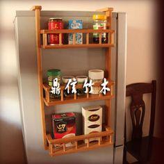 hanging refrigerator spice rack | ... rack-bathroom-storage-rack-wall-mount-multi-purpose-shelf-spice-rack