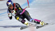 Lake Louise Super-G 2012-13 Alpine Skiing World Cup season --USA's Lindsey Vonn wins with a time of, 1:18:09