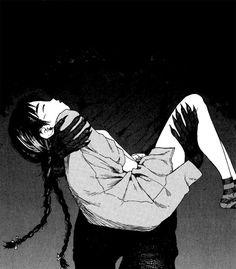 Not all demons are bad some protects Manga Anime, Anime Art, Arte Horror, Horror Art, Dark Fantasy, Fantasy Art, Le Clan, Demi Human, Deep Art