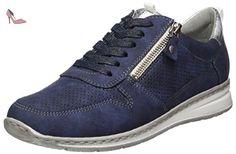 Jenny  Sapporo, Sneakers Basses femme - bleu - Blau (Indigo,silber), 38,5 EU - Chaussures jenny (*Partner-Link)