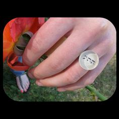 Kabbalah 72 Names of God Ring Made in Glass by ODEHYA on Etsy $28, you can customize too!