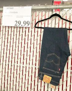 9df25b71a45d  levis mens 514  jeans only  29.99!  costcodeals  costco  levis