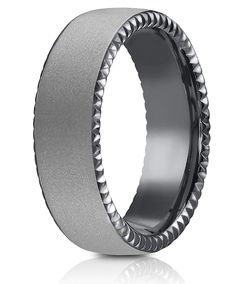 This Forge Tantalum Riveted Coin Edge Ring is as rare and pure as the metal it is made from. Alternative Metal, Powder Coating, Edge Design, Ring Designs, Coins, Rings For Men, Fashion Jewelry, Pure Products, Silver