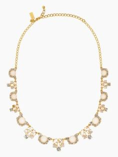 grande bouquet short necklace from Kate Spade $228.00