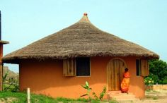 Traditional Cottage    Langma Beach, Cameroon