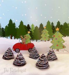 The Partiologist: Mini Christmas Tree Cakes!