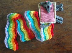 nyan cat scarf!!