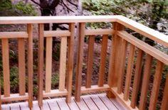 attractive wooden deck railing designs with wood decks for exterior design and landscape ideas Deck Railing Design, Patio Railing, Railing Ideas, Cedar Deck, Outdoor Dining, Outdoor Decor, Wooden Decks, Exterior Design, Boston